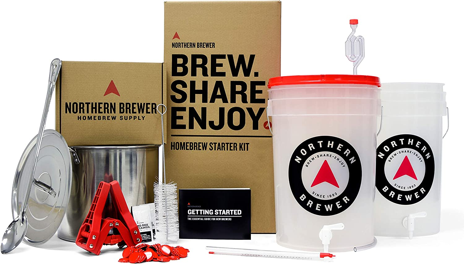 Northern Brewer Brew. Share. Enjoy. HomeBrewing Starter Set