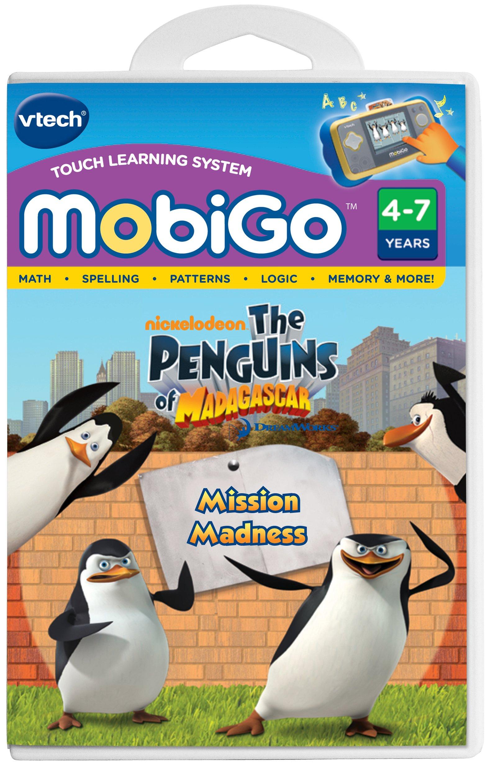 VTech - MobiGo Software - Penguins Of Madagascar by VTech (Image #1)