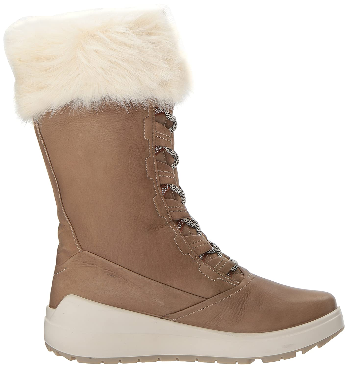 ECCO Women's Noyce Tall Snow Boot B01M71B6KA 42 EU / 11-11.5 US|Navajo Brown/Navajo Brown