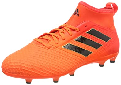 huge discount 38bfc d04a4 adidas Ace 17.3 FG, Chaussures de Football Homme, Multicolore OrangeCore  Black