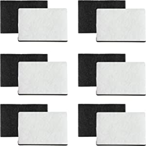 Fette Filter - Replacement Filter Compatible with Holmes HAPF7-U8 Smoke Grabber Ashtray. Fits Holmes Models: HAP70, HAP75, HAP76. Fits Pollenex Models: AT100, AT101 Pack of 12