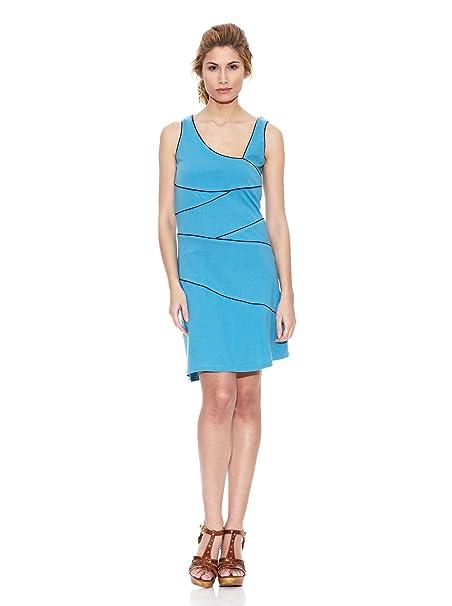 Peace & Love Vestido Azul Cielo L