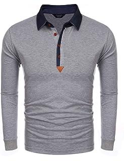 Orange Line Triangle Men Regular Fit Cotton Polo Shirts Classic Short Sleeve Polo White