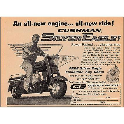 Amazon com: RelicPaper 1961 Cushman Silver Eagle: All New