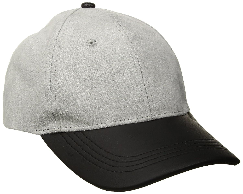 Michael Stars Women's Suddenly Suede Baseball Cap Black One Size MS16428