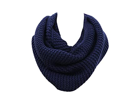 Knitted Infinity Scarf For Menwomens Simplicity Thick Neck Warmer
