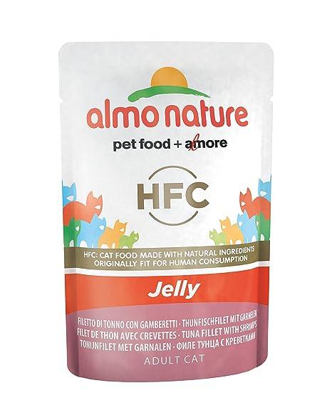 Almo nature - Bolsa de gelatina de atún y gambas para Gatos ...