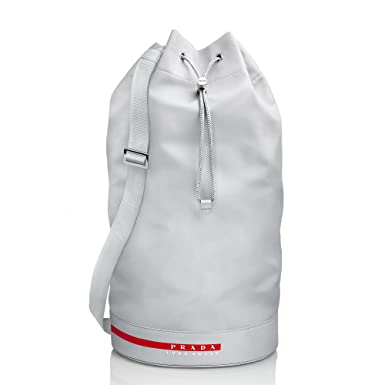 10bb993b5e1d Prada Luna Rossa Unisex Drawstring Duffle Travel Gym Holdall Bag:  Amazon.co.uk: Clothing