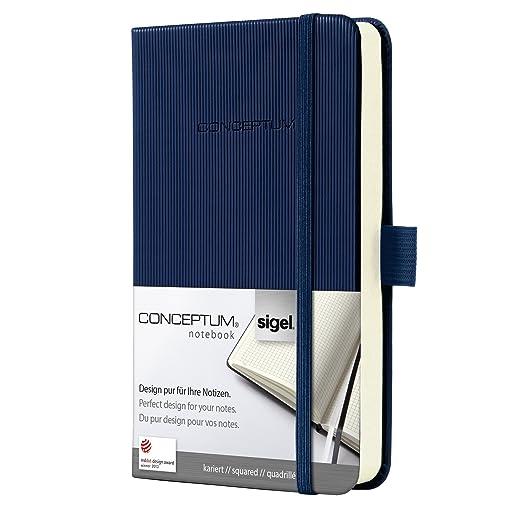 11 opinioni per Sigel CO566 Taccuino CONCEPTUM®, copertina rigida, 194 pagine a quadretti, circa