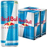 Red Bull Sugarfree, Energy Drink, 4pk, 8.4 oz Cans