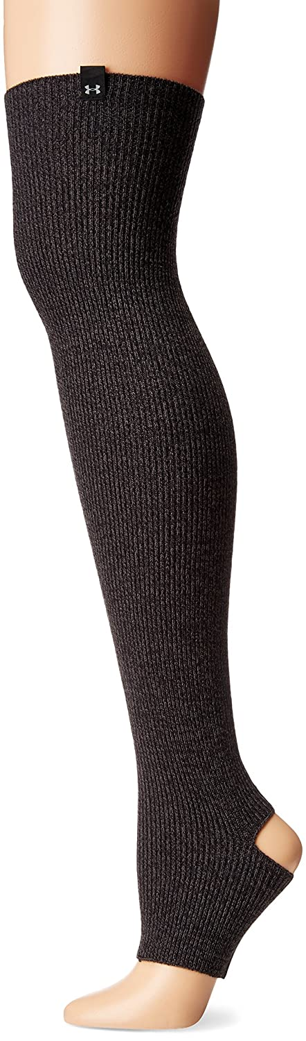 Under Armour Women's Essentials Leg Warmers, Asphalt Heather (005)/Steel, One Size Under Armour Accessories 1282673