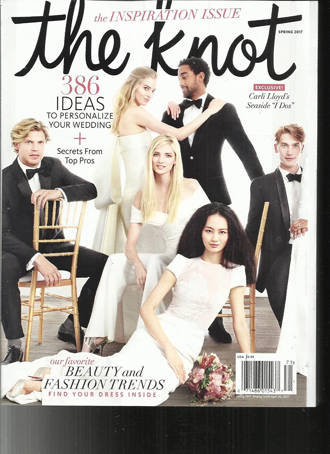 THE KNOT WEDDINGS MAGAZINE, SPRING, 2017 THE INSPIRATION ISSUE! * 386 IDEAS s3457