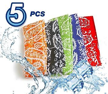 Pm0606 Ice Cool - Bufanda de enfriamiento para cuello (inflada en ...