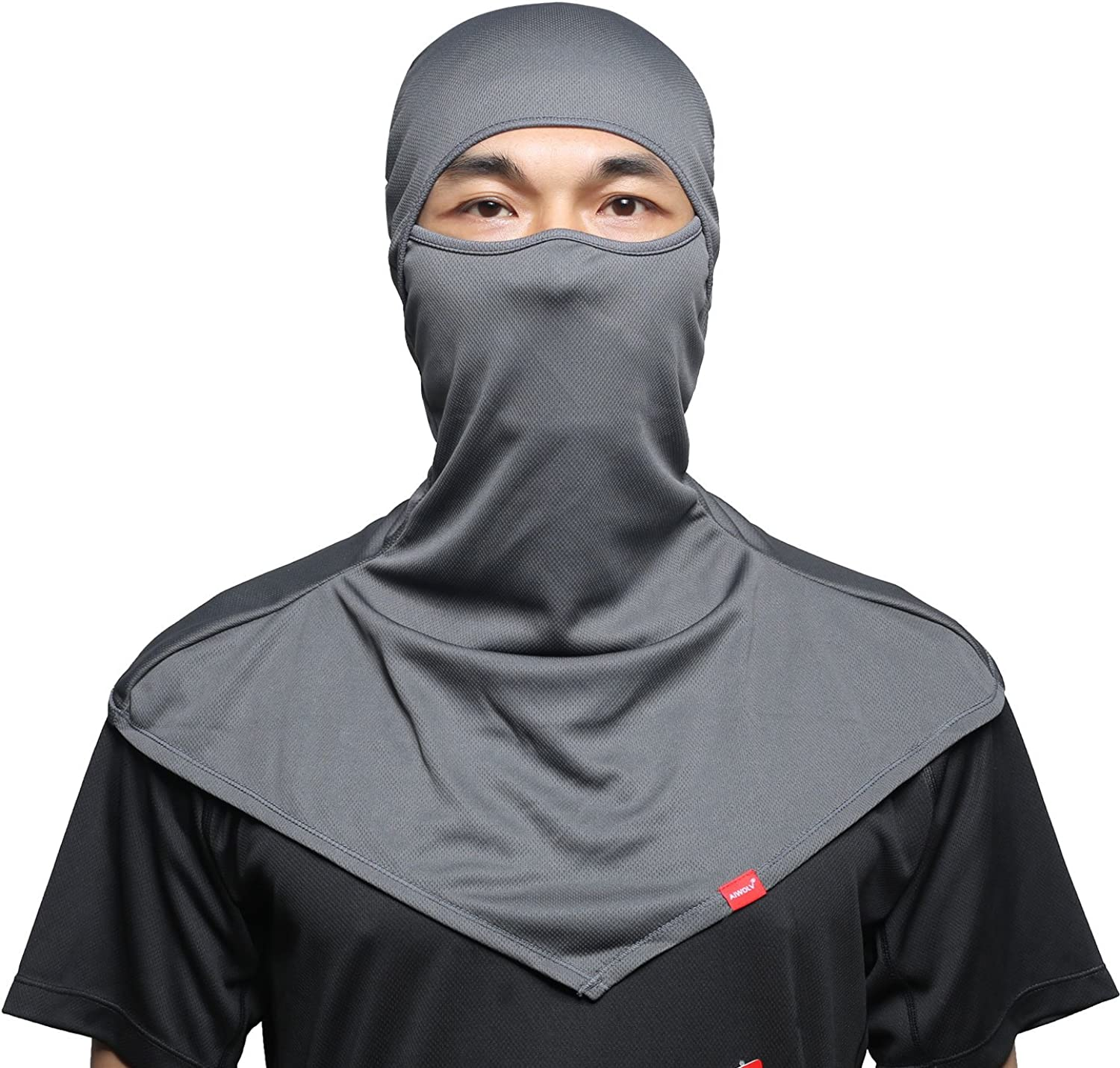 Balaclava Face Mask for Sun Protection Breathable Long Neck Covers for Men