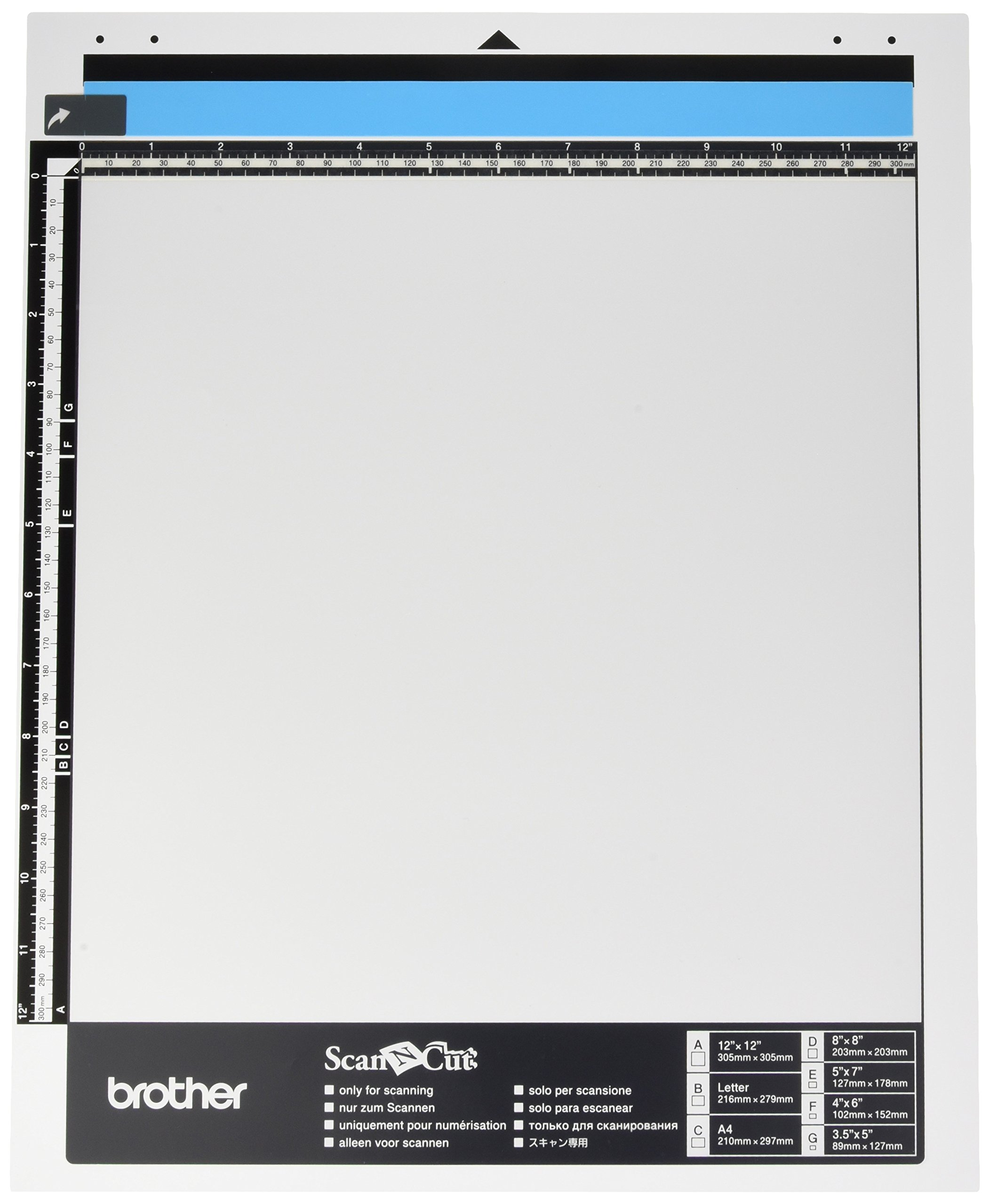 Brother CAMATS12 Photo Scanning Mat 12X12 by Brother Sewing