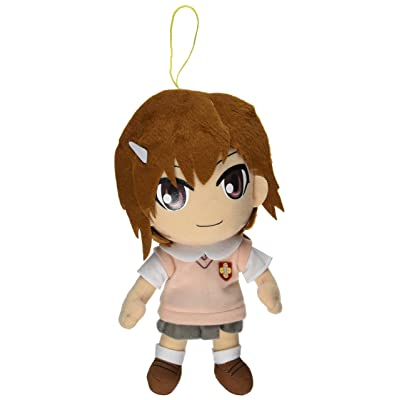 "Great Eastern A Certain Scientific Railgun 9"" Misaka Mikoto Plush: Toys & Games"
