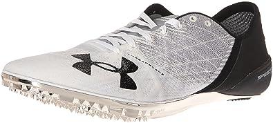 47517c84b Under Armour Speedform Sprint 2 Athletic Shoe, Steel (101)/White, 5.5