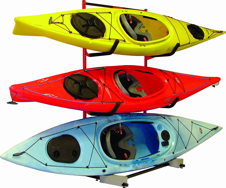 Amazon.com  Malone Auto Racks FS 3 Kayak Storage Rack System  Indoor Kayak Storage Racks  Sports u0026 Outdoors  sc 1 st  Amazon.com & Amazon.com : Malone Auto Racks FS 3 Kayak Storage Rack System ...