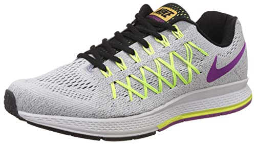 2739fe56c59 Image Unavailable. Image not available for. Colour  Nike Men s Air Zoom  Pegasus 32 Grey Running Shoes ...