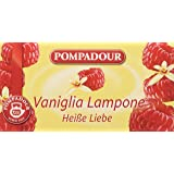 Pompadour - Mix Vaniglia E Lampone Per Infuso, Bustine Da 3 G - 20 Bustine
