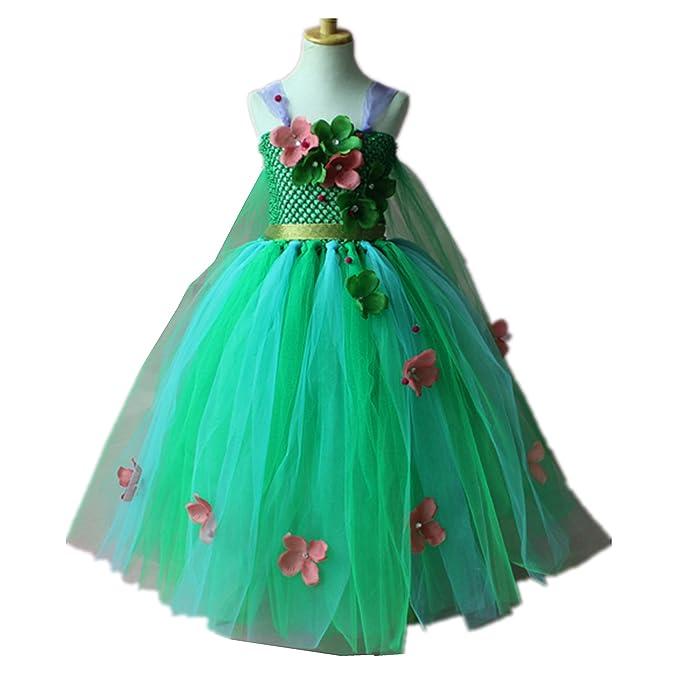 829dcf38f Baiduduozi - Vestido - para niña Color1 6-7 Años  Amazon.es  Ropa y  accesorios