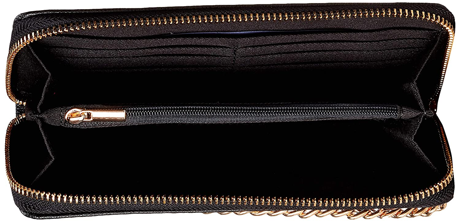 Dorothy Perkins Chain Zip Front Purse Monederos Mujer
