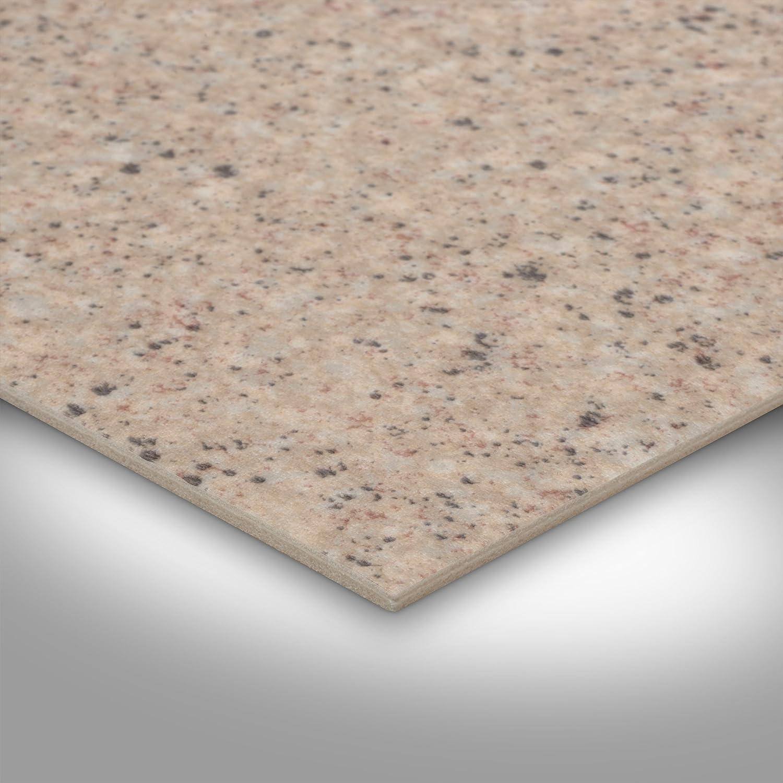300 und 400 cm breit BODENMEISTER BM70555 PVC CV Vinyl Bodenbelag Auslegware Fliesenoptik Granit beige 200 Variante: 3 x 2 m verschiedene L/ängen