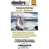 "8"" X 10"" Premium Luster Inkjet Photo Paper - 100 Sheets"