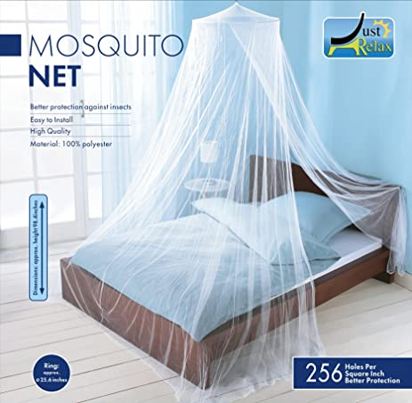 MOSQUITO NET by Just Relax Elegant Bed Canopy Set Including Full Hanging Kit Ideal & Amazon.com: MOSQUITO NET by Just Relax Elegant Bed Canopy Set ...
