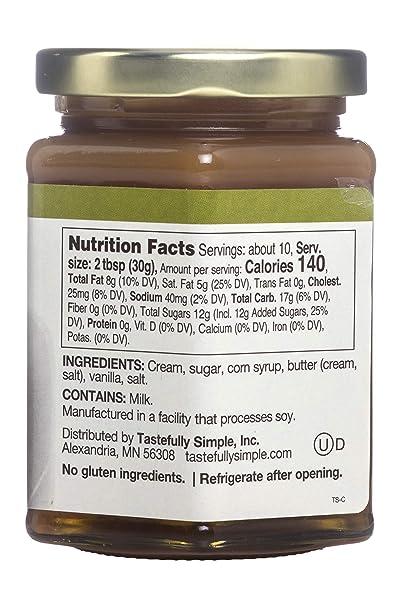 Amazon.com : Tastefully Simple Creamy Caramel Sauce : Grocery & Gourmet Food