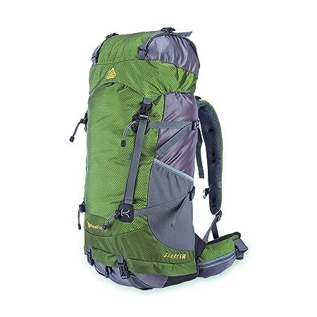 NatureFun 60L External Frame Backpack Daypack Water Resistant ...