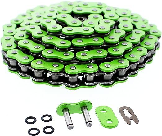 2008 2009 Kawasaki KFX450R KFX450 KFX 450R Green O-Ring Chain 520x94L