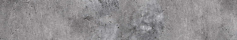 Water-resistant foil for kitchen Self-adhesive splashback kitchen foil CONCRETE 180 x 60 cm PREMIUM QUALITY