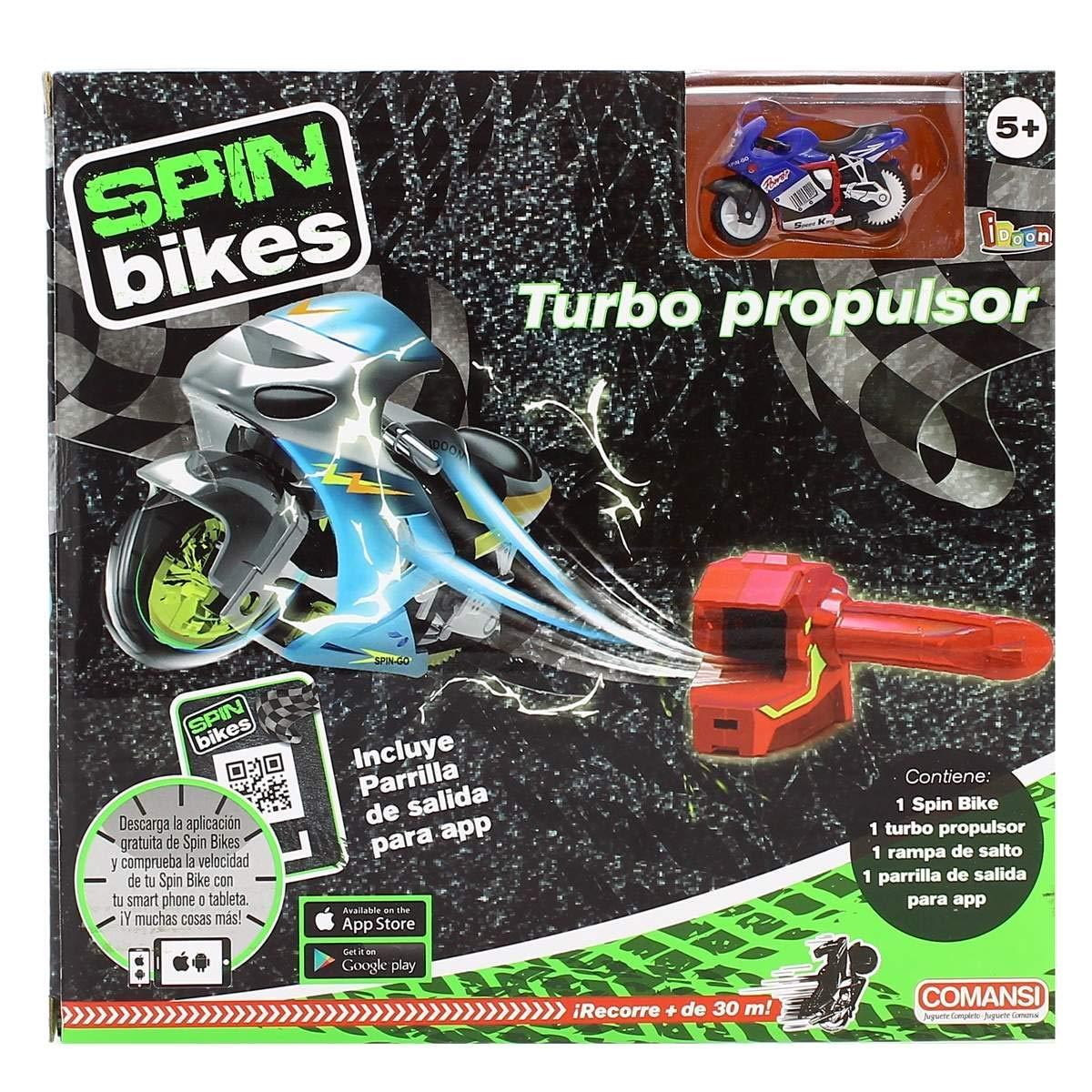 Null Turbo Propulsor Spin Bikes: Amazon.es: Juguetes y juegos