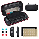 Amazon Price History for:Nintendo Switch Case Vemico Premium 9H Screen Protector, Portable Starter Kits Protective Hard Travel Carry Case Shell Zip Bag Pouch with 29 Game Storage Slots for Nintendo Switch Accessories