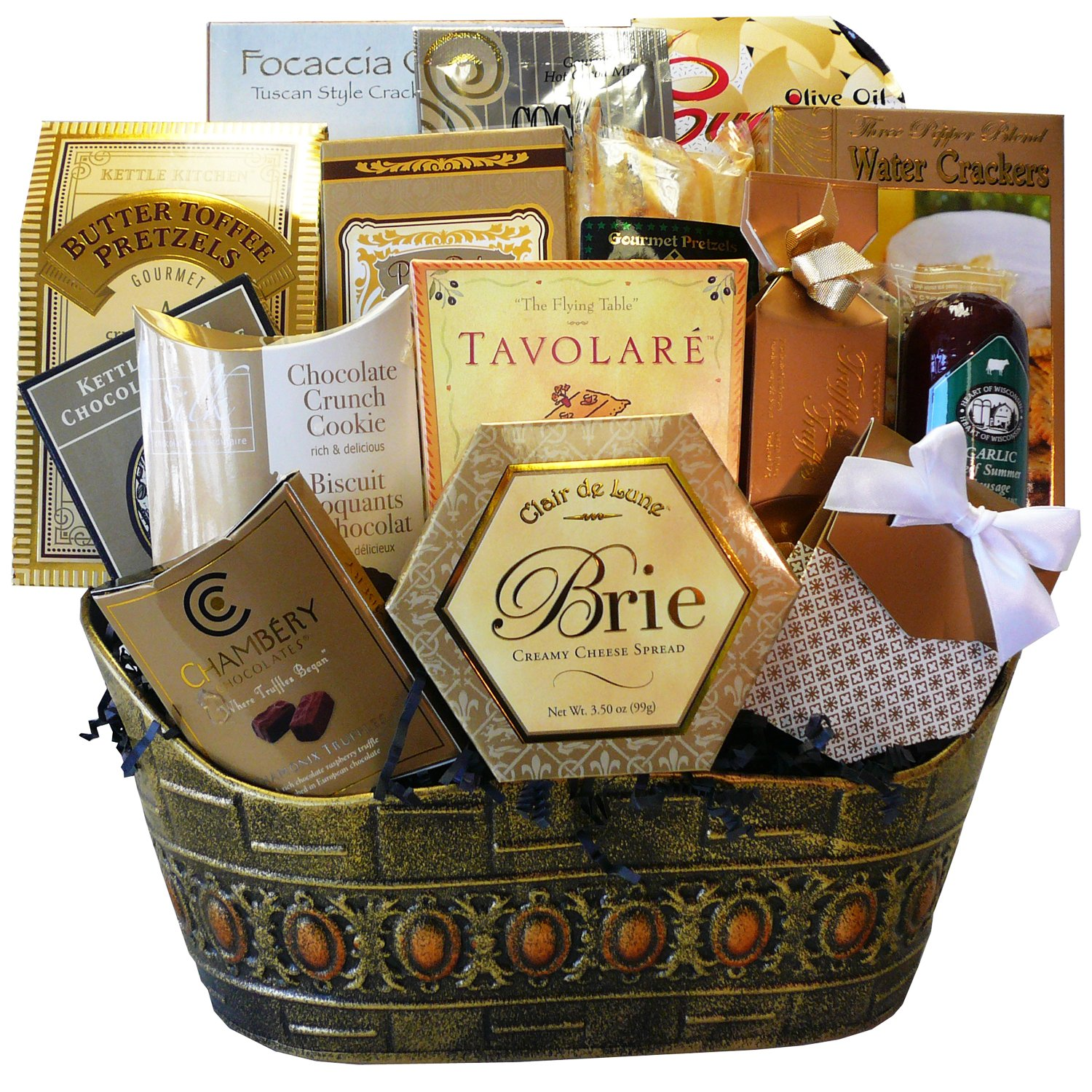Christmas thank you gift basket ideas