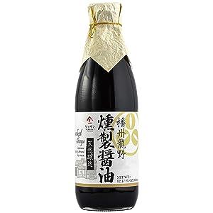 Soy sauce Smoked (Japanese Handmade Shoyu) No additives No chemical seasonings Non-GMO Natural brewing 360ml(12.2 fl oz)【Yamasan】