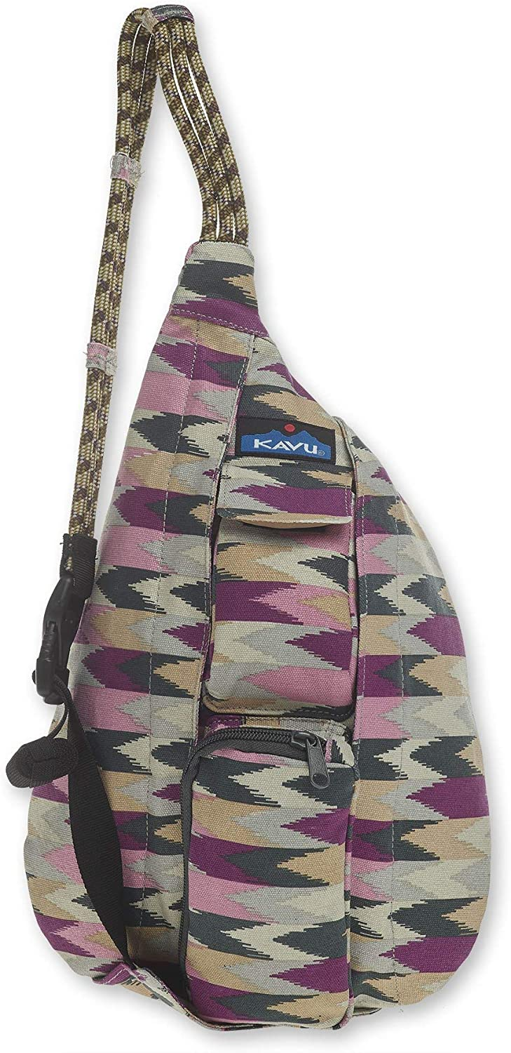 KAVU Mini Rope Bag Cotton Crossbody Sling ?