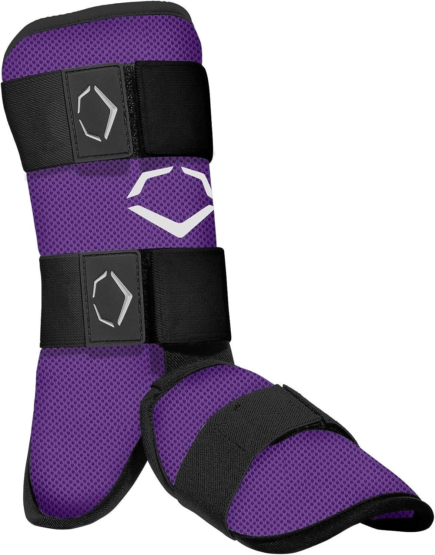 Purple EvoShield Adult SRZ-1 Batters Leg Guard