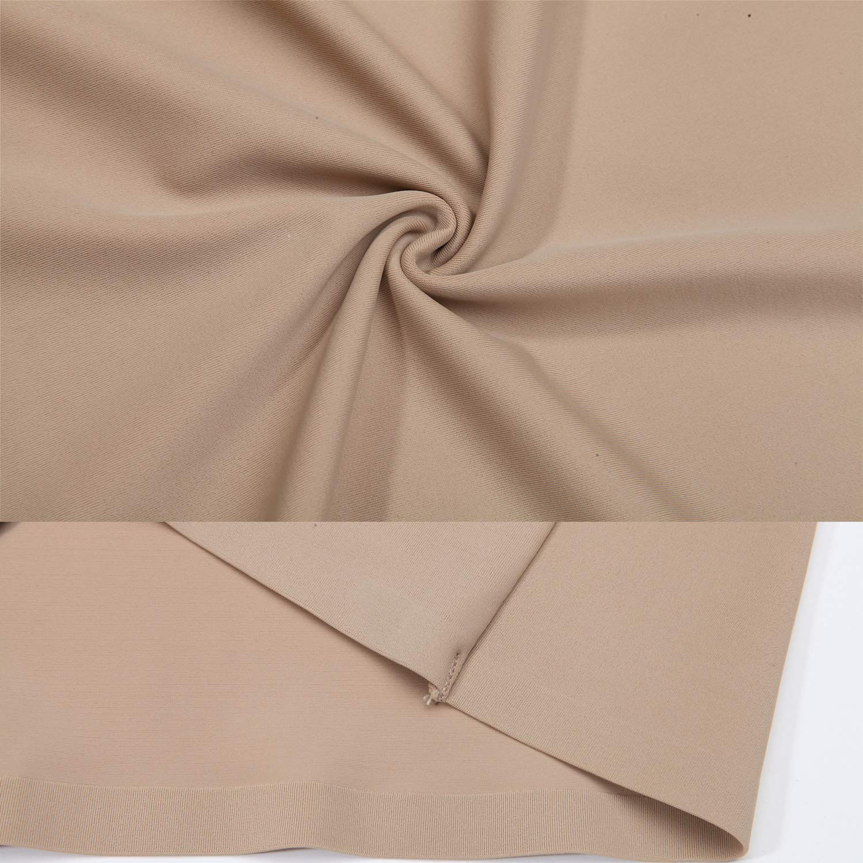SLIMBELLE Half Slips Shaper Cool Comfort Seamless Firm Control Slip Shapewear Under Dress Tight Skirt Undergarments