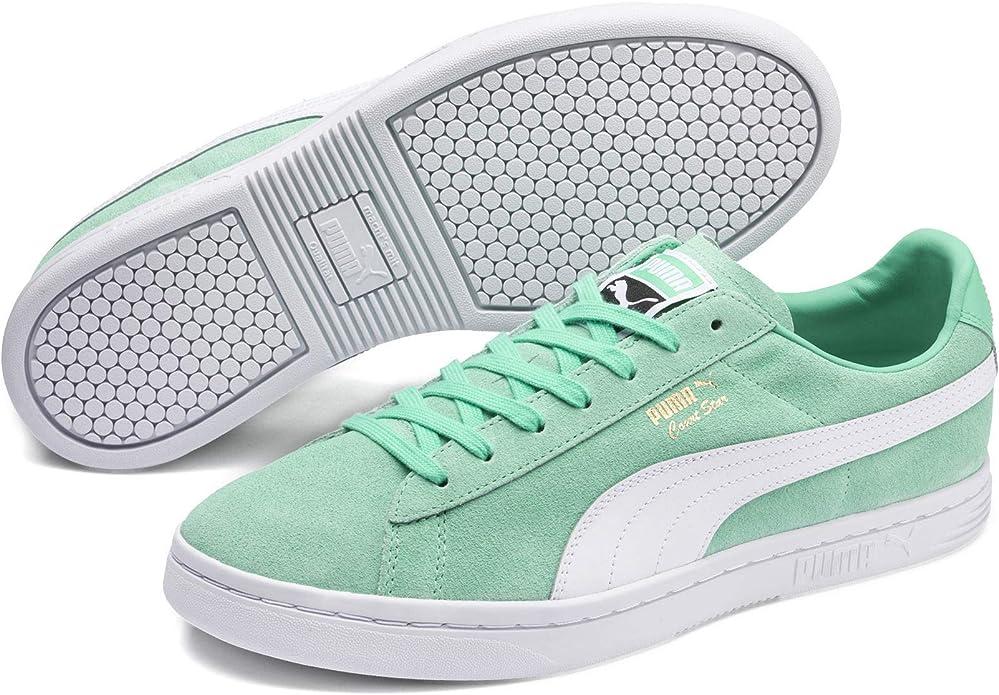 Puma Court Star FS Sneaker Damen Herren Unisex Grün (Biscay Green)
