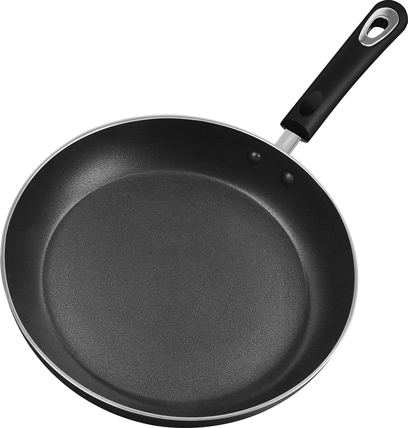 Utopia Kitchen 11 Inch Nonstick Frying Pan - Induction Bottom - Aluminum Alloy and Scratch Resistant Body - Riveted Handle - Dishwasher Friendly: Kitchen & Dining