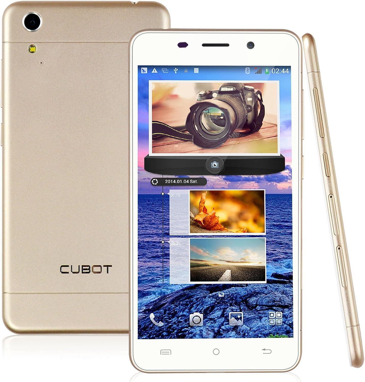 Cubot X9 Smartphone libre 12,7 cm 1280 x 720 IPS MTK6592 núcleo octa 1.4 GHz 2 GB de RAM 16 GB de ROM de Android 4.4 3G 13.0MP Dual Sim (Oro): Amazon.es: Electrónica