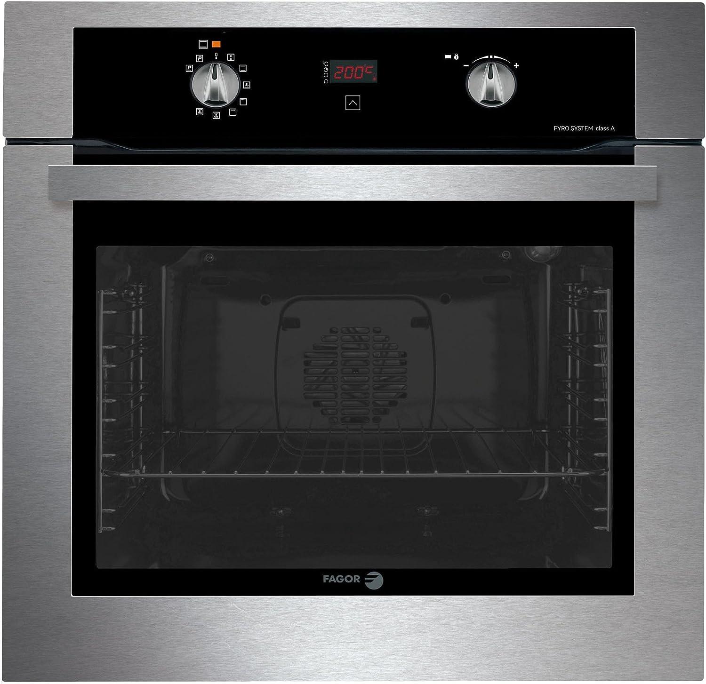 Fagor 6H-755CX - Horno (3070 W, Eléctrico, 51 L, LED, 220-240 V ...