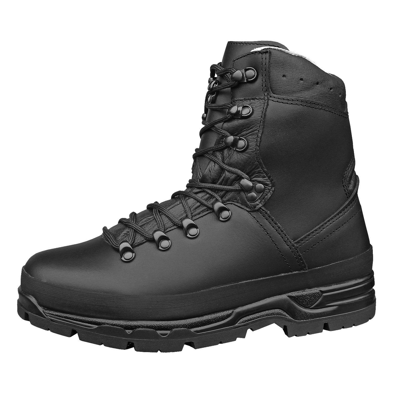 c723d35cf89 Mil-Tec BW German Army Mountain Boots Black: Amazon.co.uk: Shoes & Bags