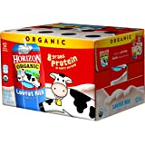 Horizon Organic Dairy Low-Fat Milk, 8 Ounce (Pack of 12)