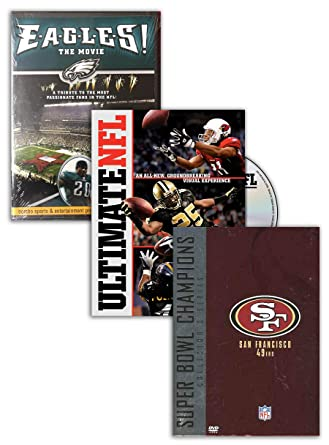 115b144c Amazon.com: NFL: Ultimate NFL, NFL Super Bowl Collection - San ...