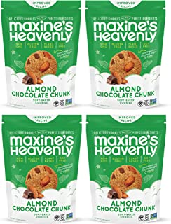 product image for Maxine's Heavenly - Gluten Free, Soy Free, Non-GMO, Vegan - Almond Chocolate Chunk Cookies - 7.2 ounce bags (4 pack)