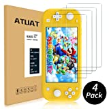 (4 Pack)ATUAT Tempered Glass Screen Protector for