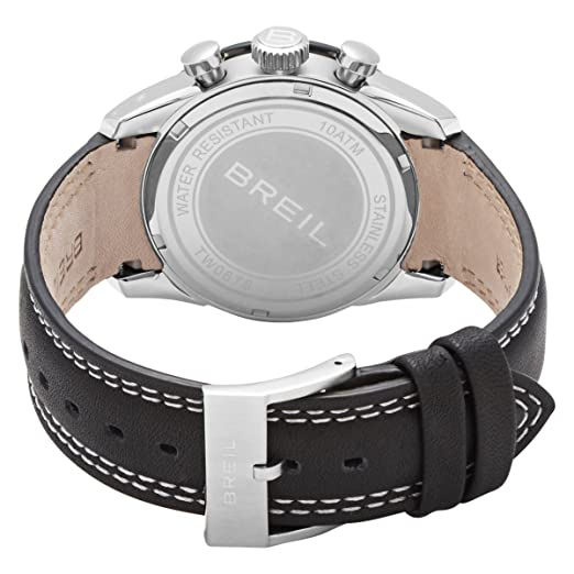 Amazon.com: Breil Milano Mens TW0678 Speed One Analog Black Dial Watch: BREIL: Watches